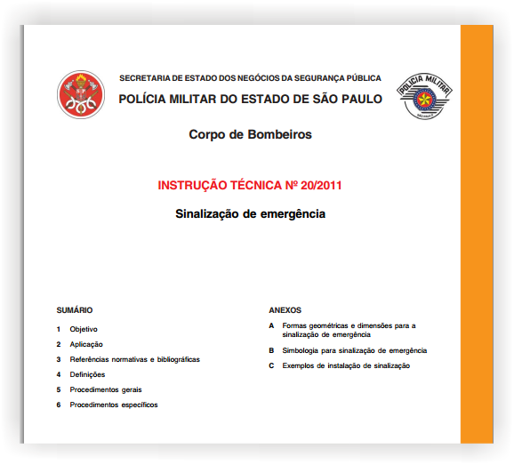 Instrução Técnica 20/2011